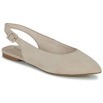 Schuhe Damen Sandalen / Sandaletten Tamaris MALOU Beige