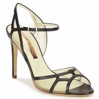Schuhe Damen Sandalen / Sandaletten Rupert Sanderson TREEN Schwarz / Beige