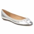 Schuhe Damen Ballerinas Buffalo BABY BILL Silbern