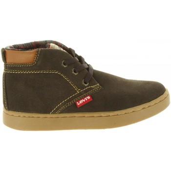 Schuhe Kinder Boots Levi's VCAM0001L CAMBRIDGE Marr?n