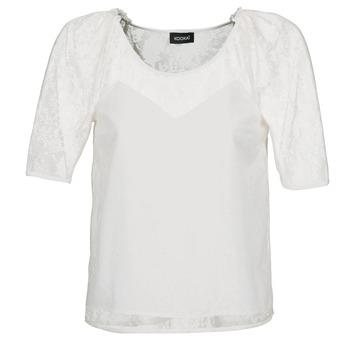Kleidung Damen Tops / Blusen Kookaï BASALOUI Weiss