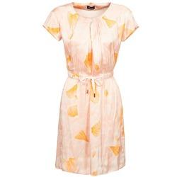 Kleidung Damen Kurze Kleider Kookaï VOULATE Rose / Gelb