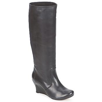 Vialis GRAVAT Schwarz - Kostenloser Versand bei Spartoode ! - Schuhe Klassische Stiefel Damen 177,00 €