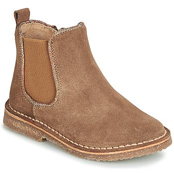 Schuhe Mädchen Boots André ARIA Camel