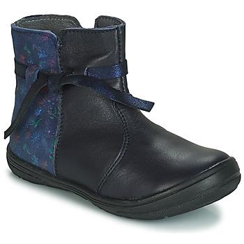 Schuhe Kinder Boots André FLOTTE Marine