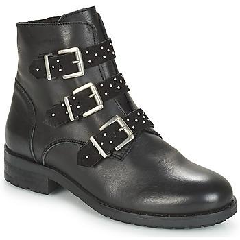 Schuhe Damen Boots André TITUS Schwarz