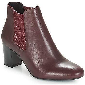 Schuhe Damen Boots André FONDANT Bordeaux