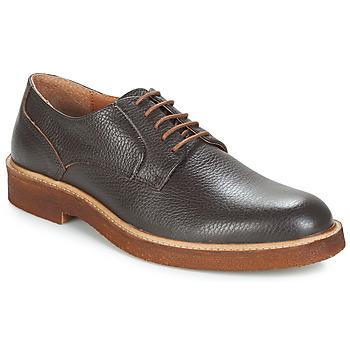Schuhe Herren Derby-Schuhe André MAUI Braun