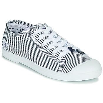 Schuhe Damen Sneaker Low Le Temps des Cerises BASIC 02 Blau / Weiss