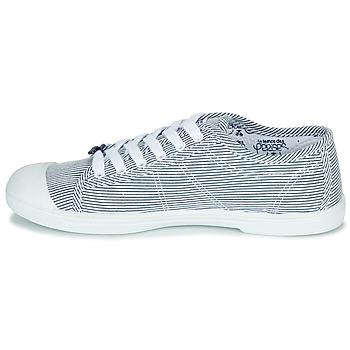Le Temps des Cerises BASIC 02 Blau / Weiss - Kostenloser Versand |  - Schuhe Sneaker Low Damen 3119