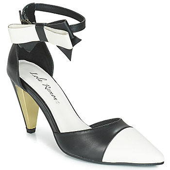 Schuhe Damen Sandalen / Sandaletten Lola Ramona RAMONA Schwarz / Weiss