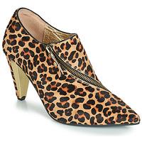 Schuhe Damen Low Boots Lola Ramona RAMONA Leopard