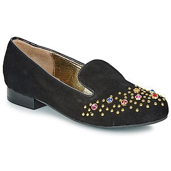 Schuhe Damen Slipper Lola Ramona PENNY Schwarz / Gold