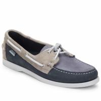 Schuhe Herren Bootsschuhe Sebago SPINNAKER Navy / Weiss / Blau