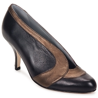 Schuhe Damen Pumps Fred Marzo MADO BOOT Schwarz / rosa / grau / Bronze