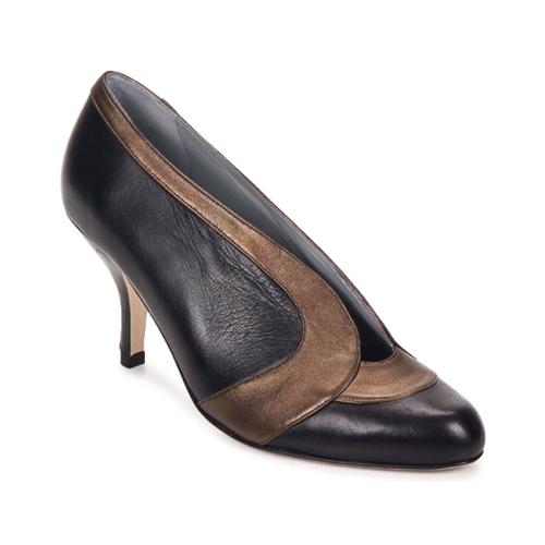 Fred Marzo MADO BOOT Schwarz / rosa / grau / Bronze Schuhe Pumps Damen 257,50
