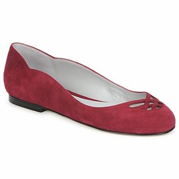 Schuhe Damen Ballerinas Fred Marzo MOMONE FLAT Bordeaux