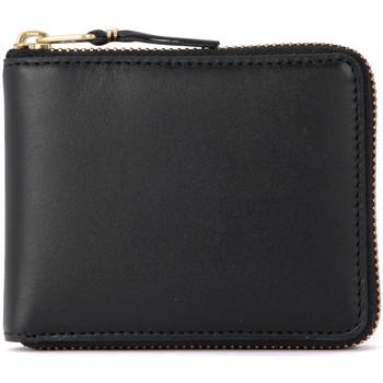 Taschen Damen Portemonnaie Comme Des Garcons Comme Des Garçons Portemonnaie Wallet in schwarzem Leder Schwarz