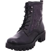 Schuhe Damen Stiefel Stiefelette Damen BLACK