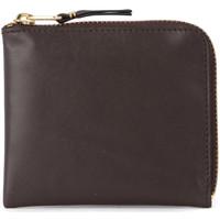 Taschen Damen Portemonnaie Comme Des Garcons Comme Des Garçons Portemonnaie Wallet in braunem Leder Braun