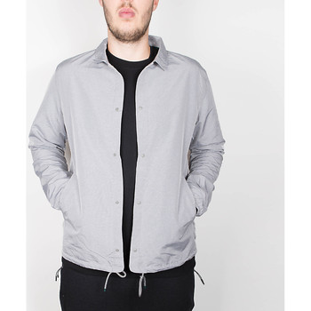 Kleidung Herren Jacken Herschel Herschel Supply Co. Voyage Coach Jacket - Light Grey Crosshatch 534