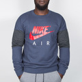 Nike Nike Air Crew Longsleeve - Thunder Blue / Anthracite / Universit