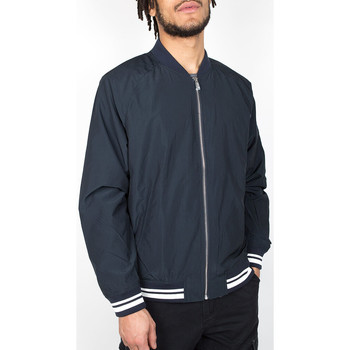 Kleidung Herren Jacken Ben Sherman Nylon Bomber Jacket - Staples Navy 534