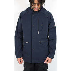 Kleidung Herren Jacken Ben Sherman Sharp Hooded Jacket - Navy 534