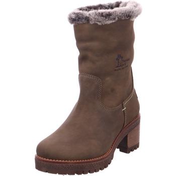Schuhe Damen Schneestiefel Stiefel - Piola B26 Nobuck Kaki/Khaki grün