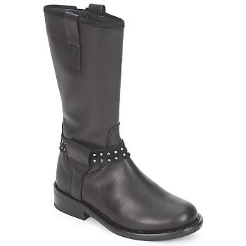 Schuhe Mädchen Boots Hip GRABI Schwarz