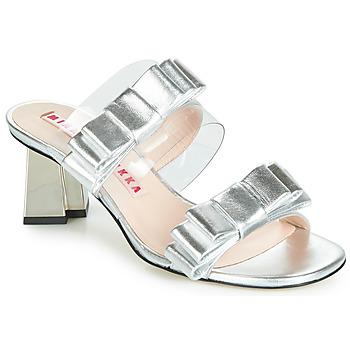 Schuhe Damen Sandalen / Sandaletten Minna Parikka FELIZ Silbern