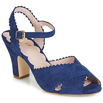 Schuhe Damen Sandalen / Sandaletten Miss L'Fire BEATRIZ Blau