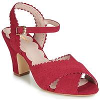 Schuhe Damen Sandalen / Sandaletten Miss L'Fire BEATRIZ Rot