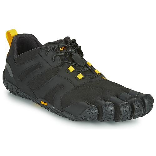 Schuhe Herren Laufschuhe Vibram Fivefingers V-TRAIL Schwarz / Gelb