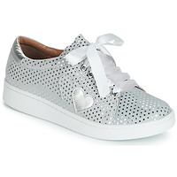 Schuhe Damen Sneaker Low Cristofoli ARE Silbern