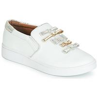 Schuhe Damen Slip on Cristofoli JOLA Weiss