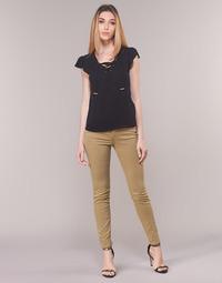 Kleidung Damen 5-Pocket-Hosen Armani Exchange HELBIRO Beige