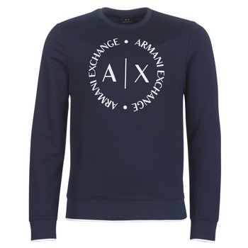 Kleidung Herren Sweatshirts Armani Exchange HERBARI Schwarz