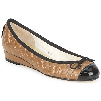 Ballerinas French Sole HENRIETTA Maulwurf 350x350