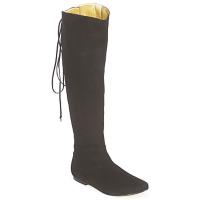 Schuhe Damen Klassische Stiefel French Sole PRINCE Schwarz