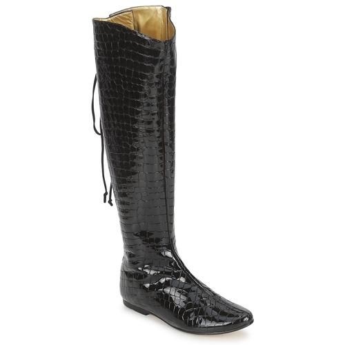 Stiefel French Sole PRINCE Schwarz 350x350