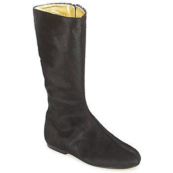 Schuhe Damen Klassische Stiefel French Sole PATCH Schwarz