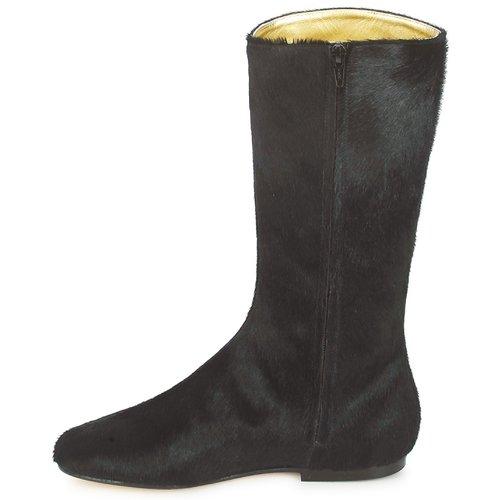 French Sole Sole French PATCH Schwarz Schuhe Klassische Stiefel Damen 196,50 0fef97