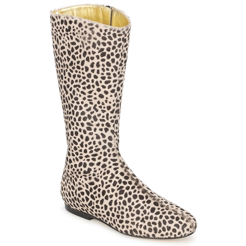 French Sole Klassische PATCH Leopard  Schuhe Klassische Sole Stiefel Damen 314,40 69e38b