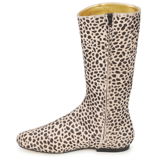 French Sole PATCH Leopard Schuhe Klassische Stiefel Damen 157,20