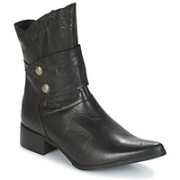 Schuhe Damen Low Boots Betty London DROUVOU Schwarz