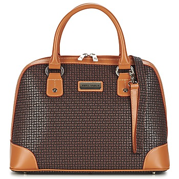 Taschen Damen Handtasche Ted Lapidus FIDELIO 2 Braun / Cognac