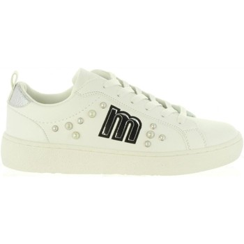 Schuhe Damen Sneaker Low MTNG 69360 Blanco