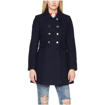Kleidung Damen Mäntel Anastasia Winter Pelzkragen Mantel Black
