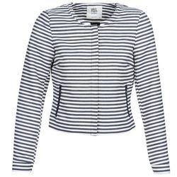 Kleidung Damen Jacken / Blazers Vero Moda MALTA Marine / Weiss